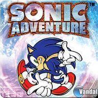 Portada oficial de Sonic Adventure PSN para PS3
