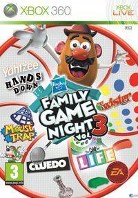Portada oficial de Hasbro Family Game Night para Xbox 360