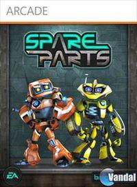 Portada oficial de Spare Parts XBLA para Xbox 360
