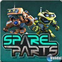 Portada oficial de Spare Parts PSN para PS3