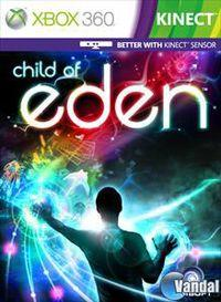 Portada oficial de Child of Eden para Xbox 360