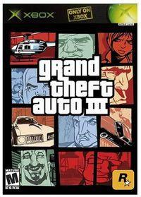 Portada oficial de Grand Theft Auto 3 para Xbox