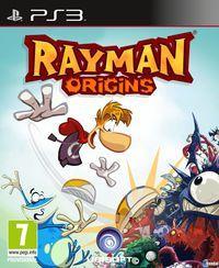 Portada oficial de Rayman Origins para PS3