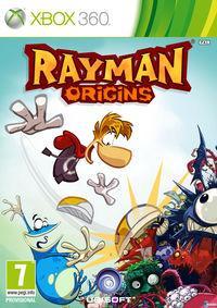Portada oficial de Rayman Origins para Xbox 360