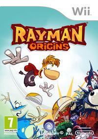Portada oficial de Rayman Origins para Wii