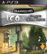 Portada oficial de ICO & Shadow Of The Colossus Classics HD para PS3