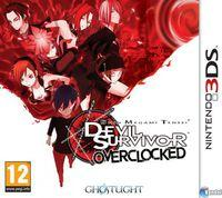 Portada oficial de Shin Megami Tensei: Devil Survivor Overclocked para Nintendo 3DS