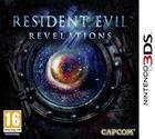 Portada oficial de Resident Evil Revelations para Nintendo 3DS
