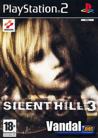 Portada oficial de Silent Hill 3 para PS2