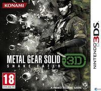 Portada oficial de Metal Gear Solid 3D: Snake Eater para Nintendo 3DS
