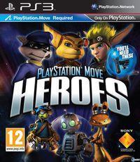 Portada oficial de PlayStation Move Heroes para PS3