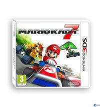 Portada oficial de Mario Kart 7 para Nintendo 3DS