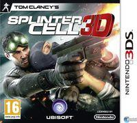 Portada oficial de Tom Clancy's Splinter Cell 3D para Nintendo 3DS
