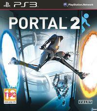 Portada oficial de Portal 2 para PS3