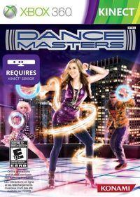 Portada oficial de DanceMasters para Xbox 360