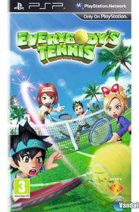Portada oficial de Everybody's Tennis para PSP