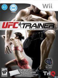 Portada oficial de UFC Personal Trainer para Wii