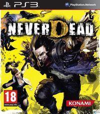 Portada oficial de NeverDead para PS3