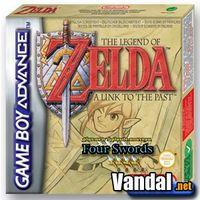 Portada oficial de The Legend of Zelda: A Link to the Past para Game Boy Advance