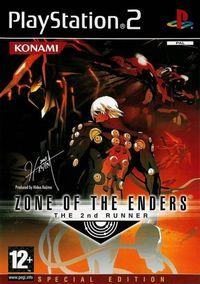 Portada oficial de Zone of the Enders 2: The Second Runner para PS2