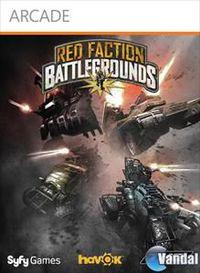 Portada oficial de Red Faction: Battlegrounds XBLA para Xbox 360