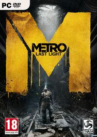 Portada oficial de Metro: Last Light para PC