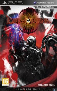 Portada oficial de Lord of Arcana para PSP