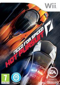 Portada oficial de Need for Speed Hot Pursuit para Wii
