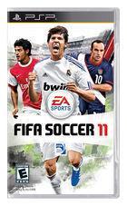 Portada oficial de FIFA 11 para PSP