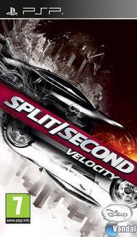 Portada oficial de Split/Second: Velocity para PSP