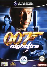 Portada oficial de 007: Nightfire para GameCube