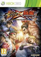 Portada oficial de Street Fighter X Tekken para Xbox 360