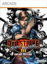 Portada oficial de Street Fighter III: 3rd Strike Online Edition XBLA para Xbox 360