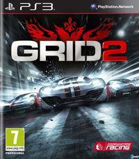Portada oficial de GRID 2 para PS3