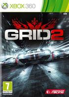 Portada oficial de GRID 2 para Xbox 360