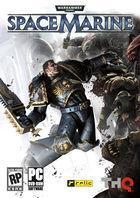 Portada oficial de Warhammer 40.000: Space Marine para PC