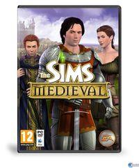 Portada oficial de The Sims: Medieval para PC