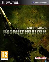 Portada oficial de Ace Combat Assault Horizon para PS3