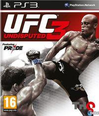 Portada oficial de UFC Undisputed 3 para PS3