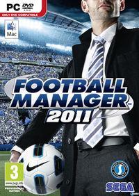 Portada oficial de Football Manager 2011 para PC