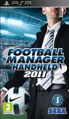 Portada oficial de Football Manager Handheld 2011 para PSP