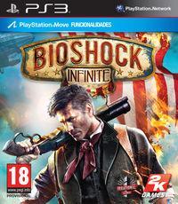 Portada oficial de BioShock Infinite para PS3