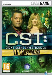 Portada oficial de CSI: La Conspiración para PC