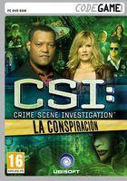 Portada oficial de CSI: La Conspiraci�n para PC