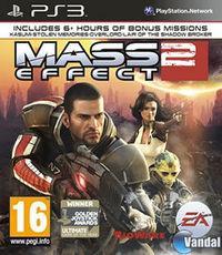 Portada oficial de Mass Effect 2 para PS3