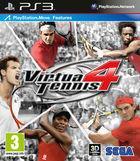 Portada oficial de Virtua Tennis 4 para PS3