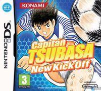 Portada oficial de Captain Tsubasa: New Kick Off para NDS