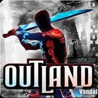 Portada oficial de Outland PSN para PS3