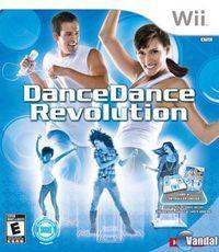 Portada oficial de Dance Dance Revolution Wii para Wii