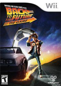 Portada oficial de Back to the Future: The Game para Wii